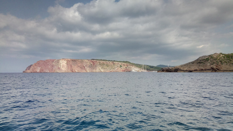 Balearics approaching on expeditions saling