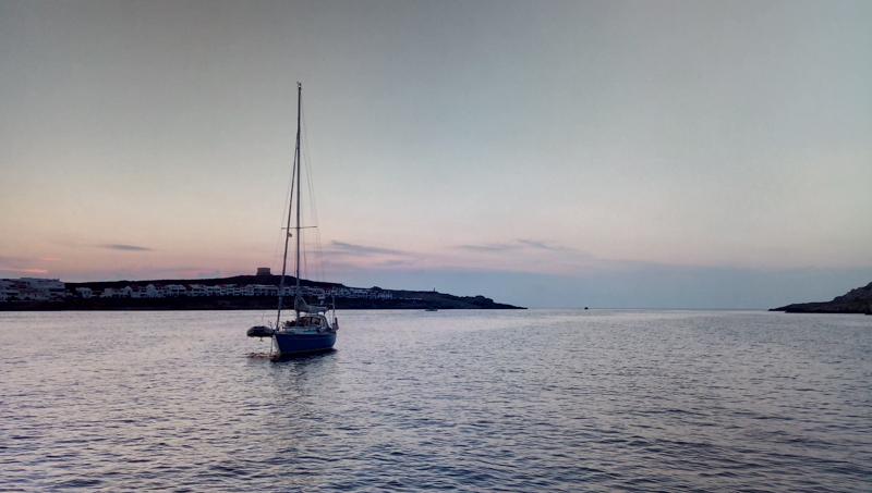 Setting sail from the balearics