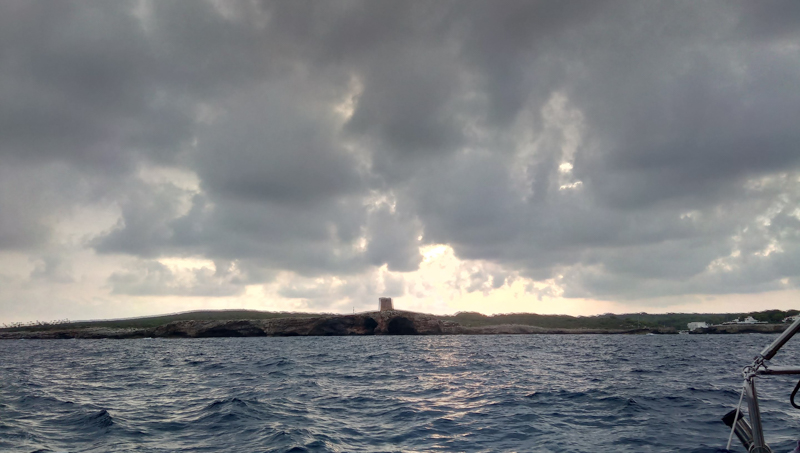 Weather conditions around the islands