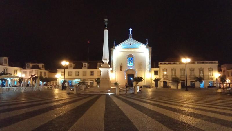 Guadiana center at night