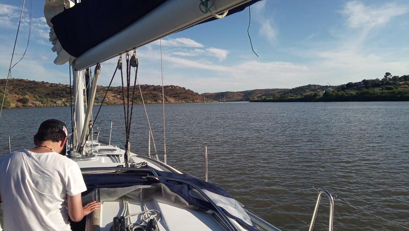 Crew member onboard