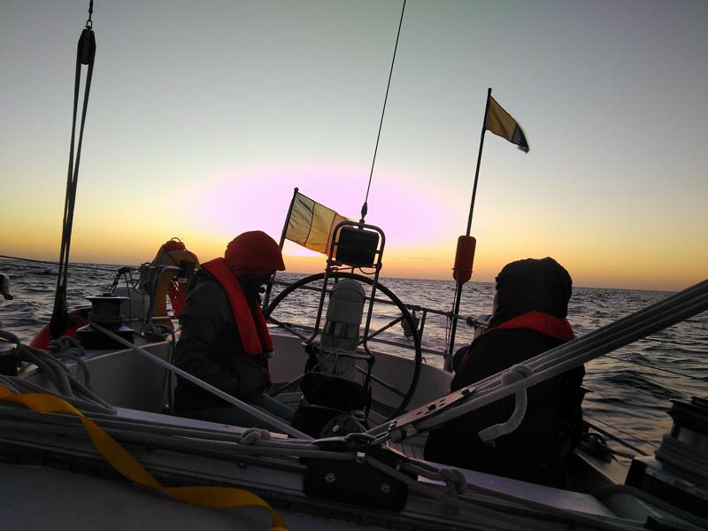 Night sailing experience
