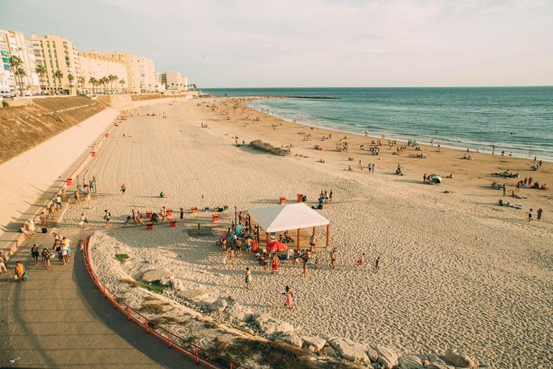 Beach in rota