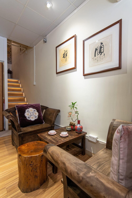 Allure Regimen Beauty Yuen Long Hong Kong Store Interior Waiting Lounge