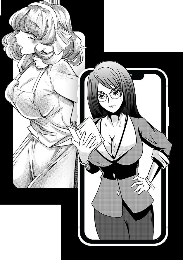 Manga Phone MOckuo EcchiToons