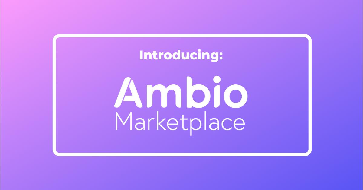 Ambio Marketplace Logo