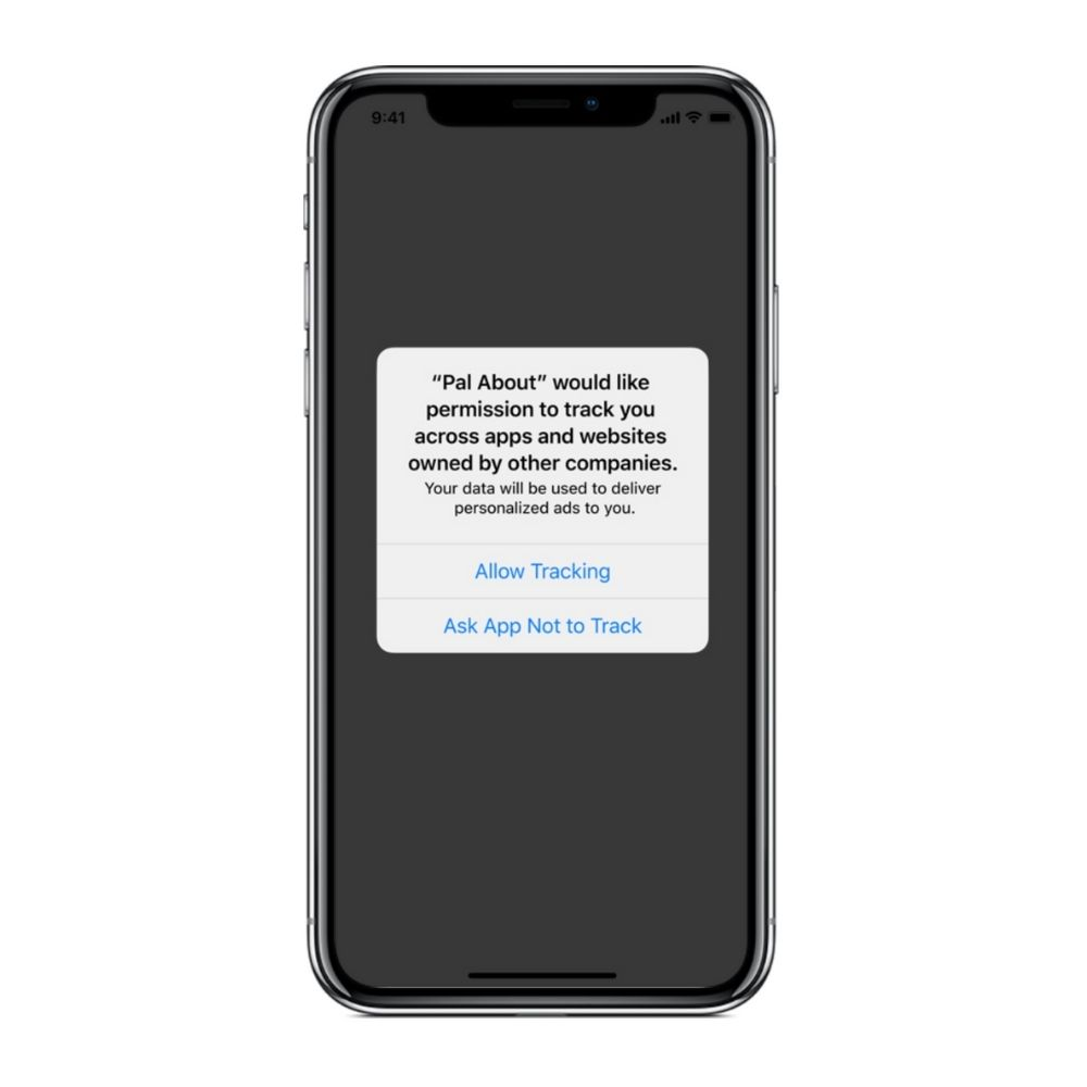 iOS 14 ApprackingTransparency Update