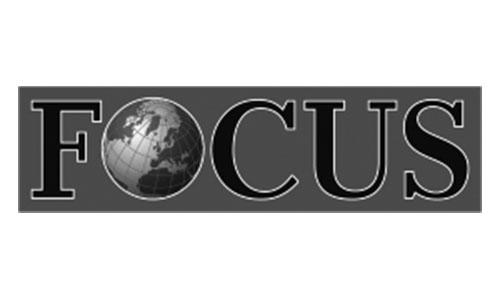 "Logo des Magazins ""Focus"", in welchem 1A Signature features hat."
