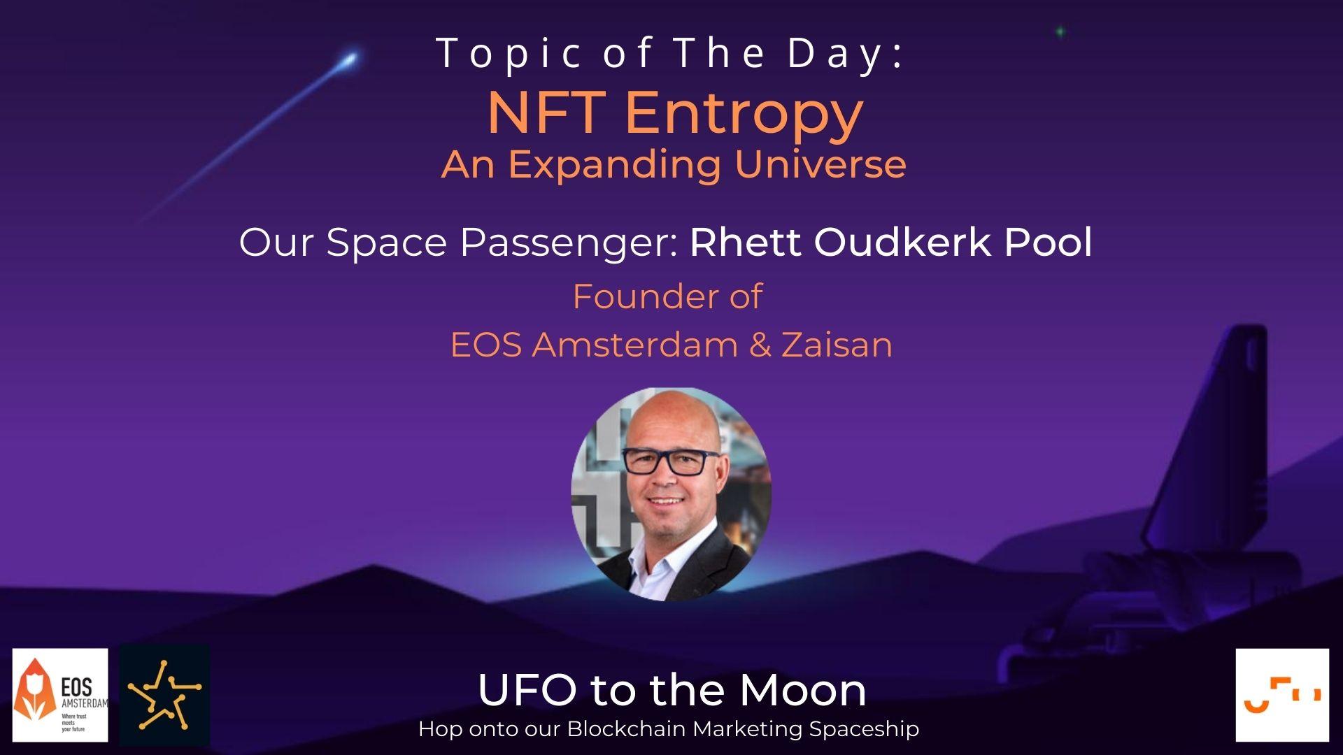 Rhett Oudkerk Pool, CEO & founder of EOS Amsterdam