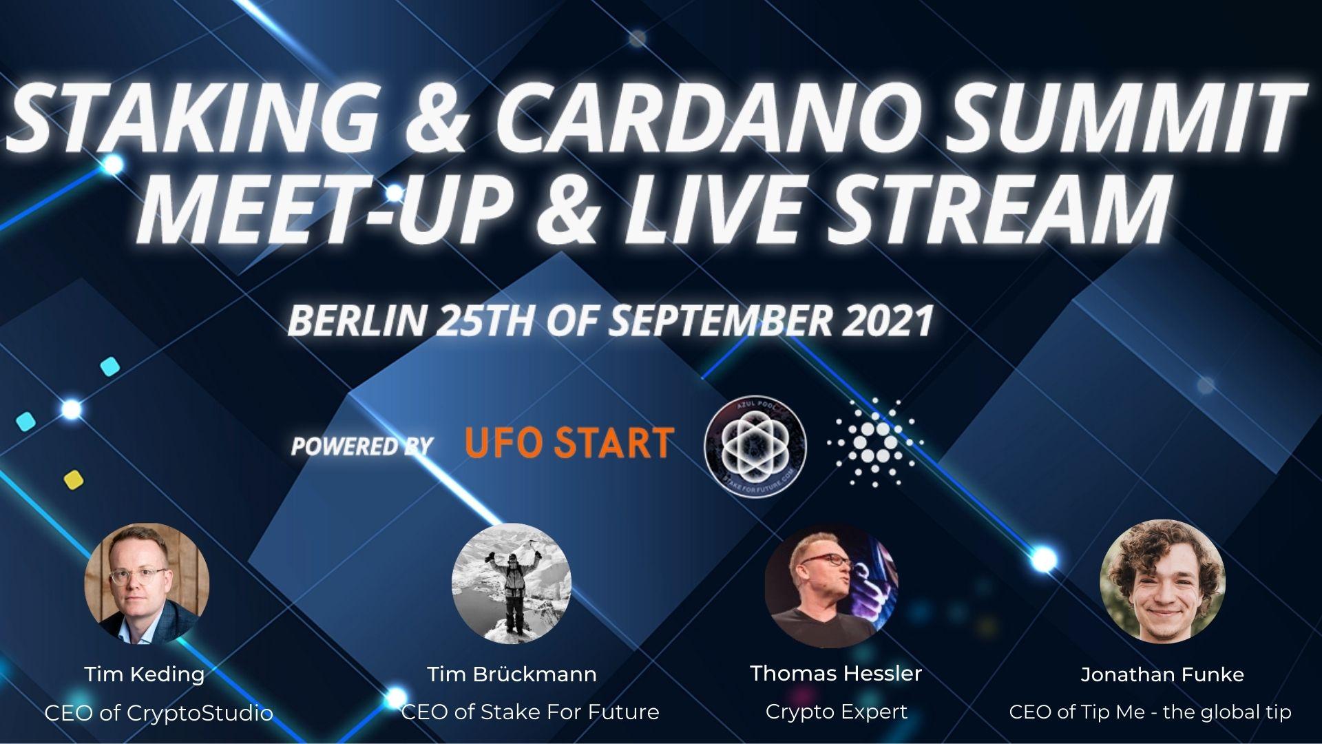 Staking & Cardano Summit
