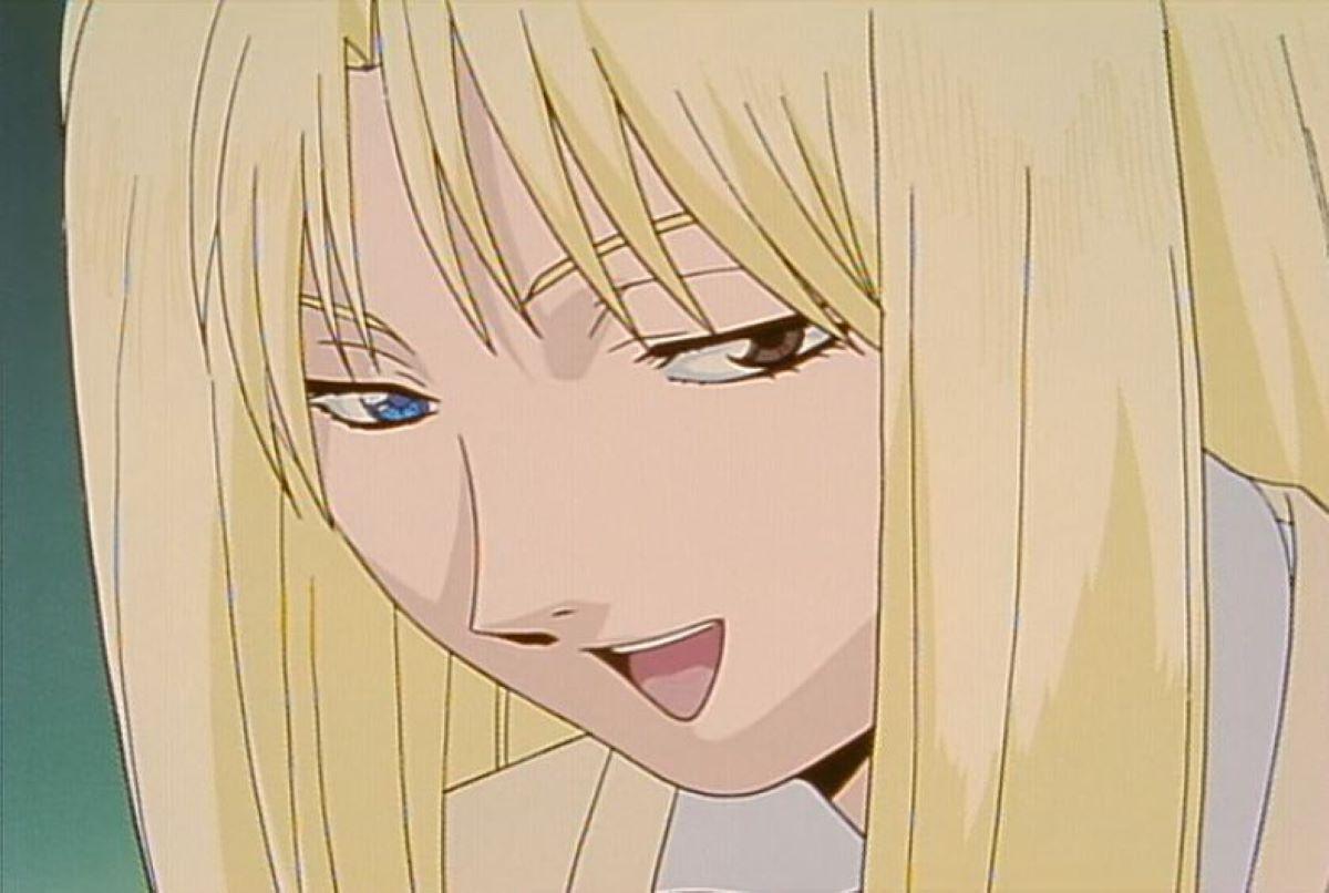 Urumi Kanzaki with one blue and one brown eye | Urumi Kanzaki - GTO - The Animation | Heterochromia in Anime