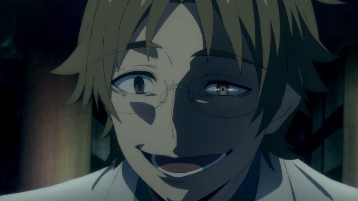 Daniel Dickens showing Rachel his one false eye | Daniel Dickens - Angels of Death | Heterochromia in Anime