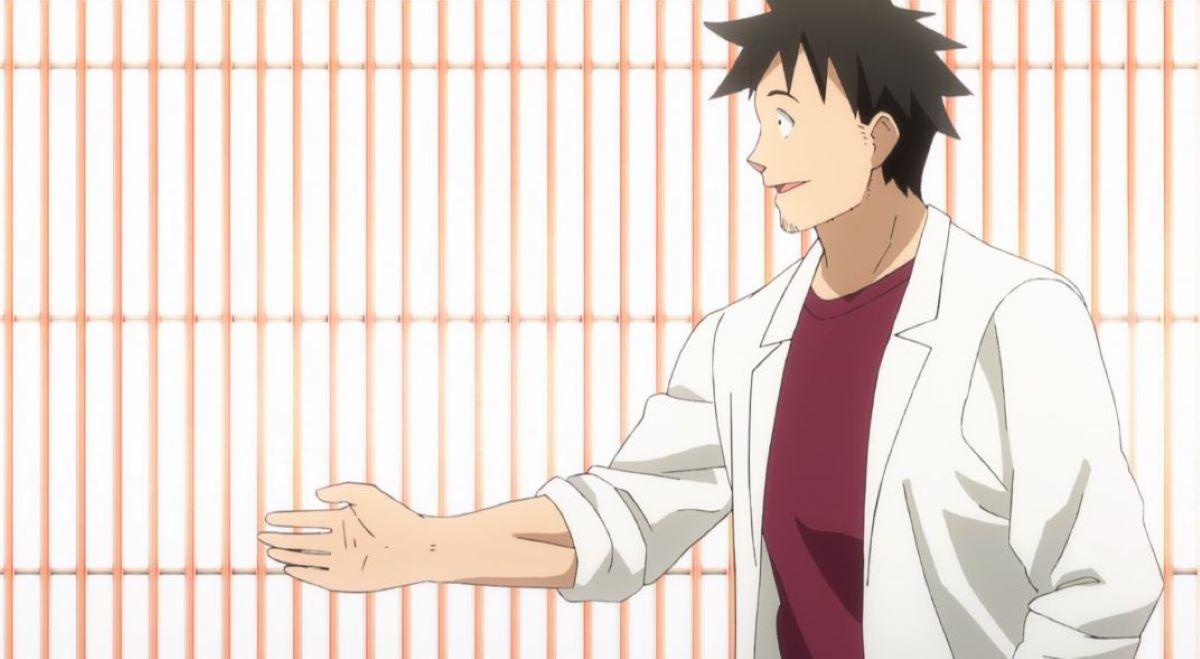Tetsuo Takahashi introducing himself to Sakie | Interviews With Monster Girls - Tetsuo Takahashi | The Best Anime Teachers