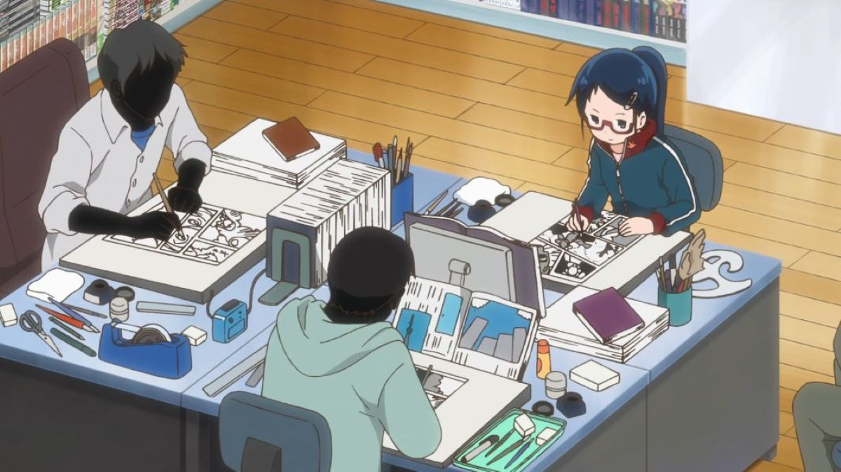 Manga assistants working | How Manga is Produced | What Makes Manga Different?