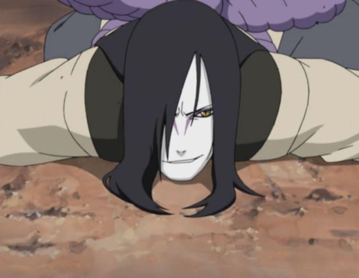 Orochimaru on the ground   Orochimaru - Naruto   Overpowered Characters