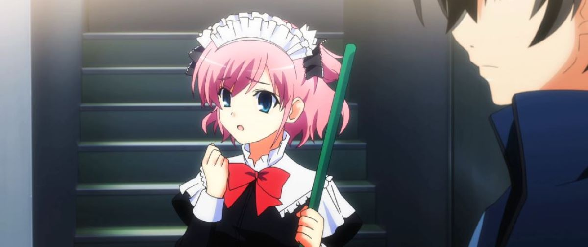 Sachi in her maid outfit | Sachi - The Fruit of Grisaia | Our Favorite Maid Characters!