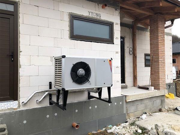 Realizácia - montáž tepelného čerpadla