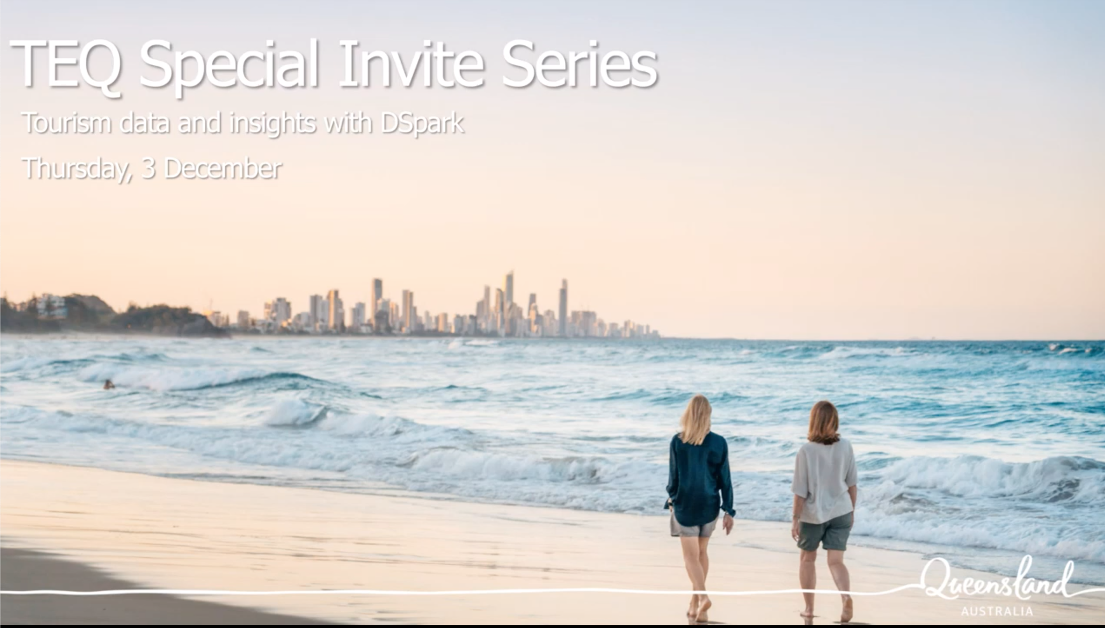 Tourism and Events Queensland Special Invite Series webinar