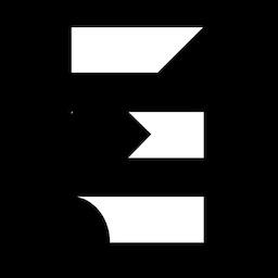 Logo Icon Studio Elias fond noir