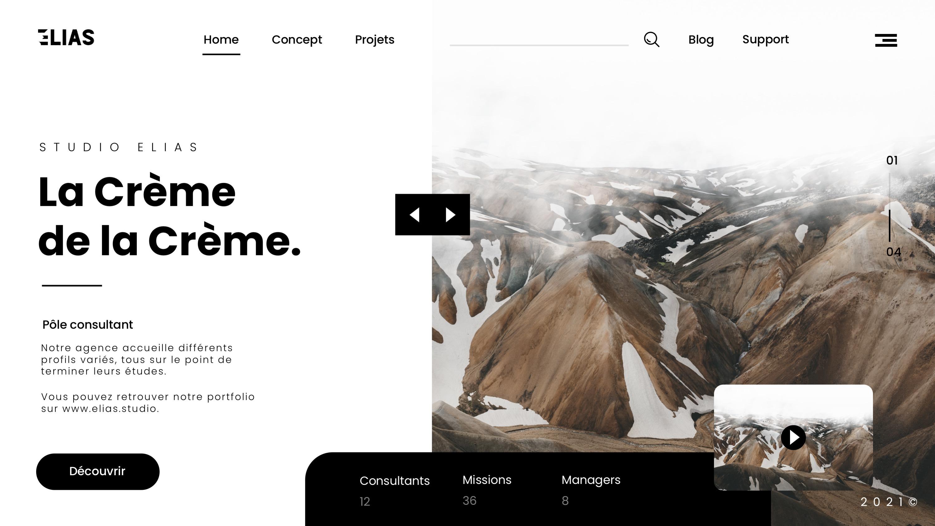 Webdesign Studio Elias Axel Sani