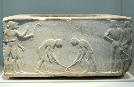 Ancient Greece ice hockey