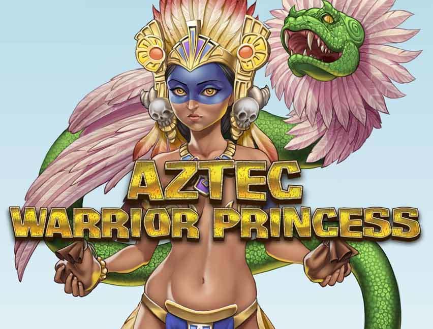 Play Aztec Warrior Princess bitcoin slot
