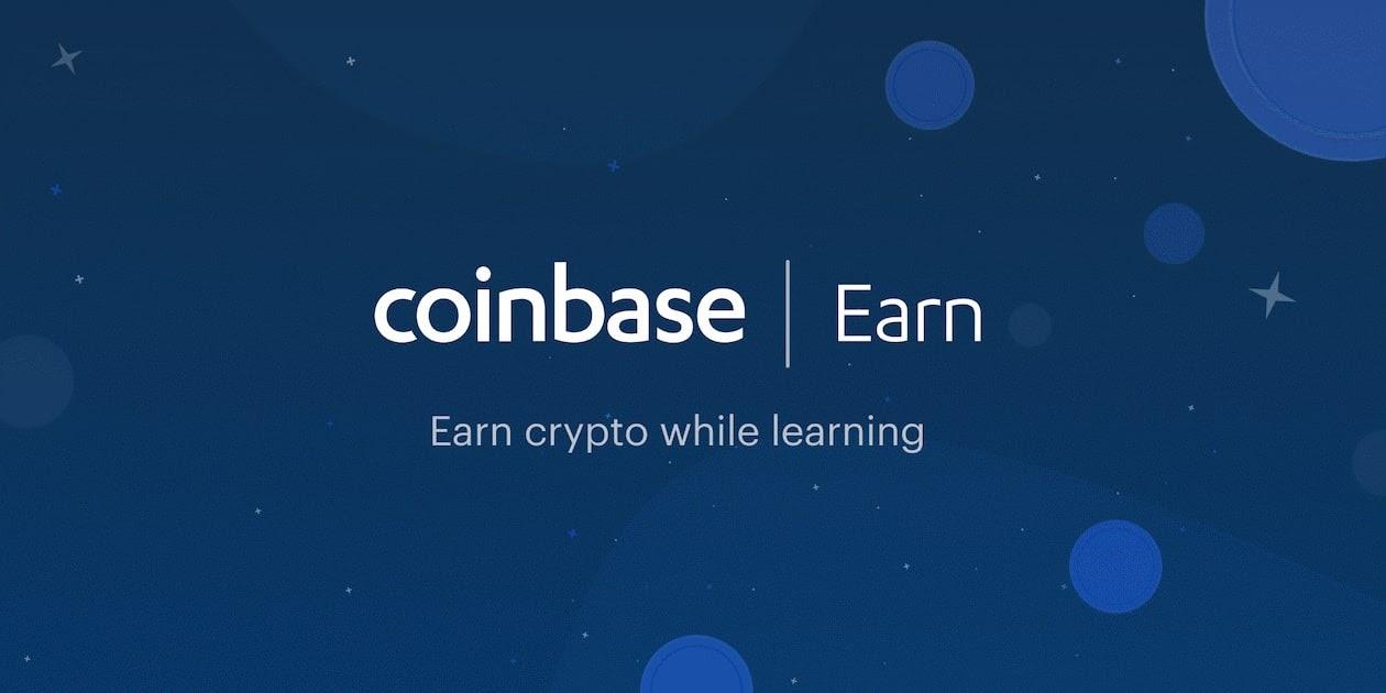 Coinbase earn - earn crypto while learning