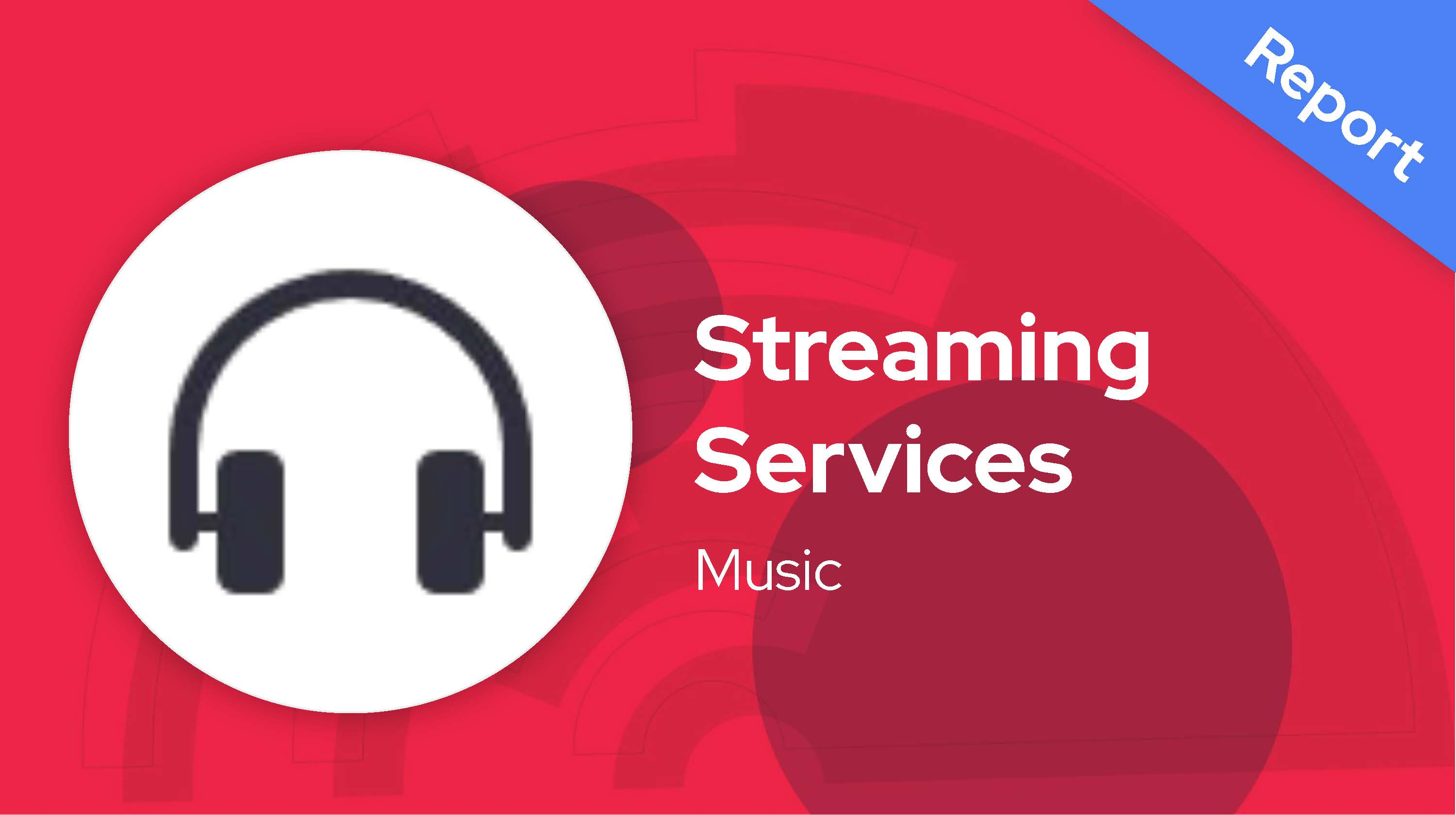 Paid Social Snapshot: Music Streaming Services