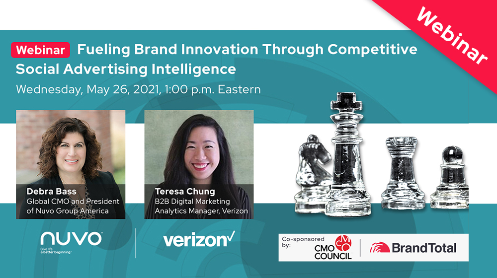 Webinar: Fueling Brand Innovation Through Competitive Social Advertising Intelligence