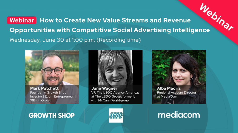 How to Create New Value Streams and Revenue Opportunities with Competitive Social Advertising Intelligence