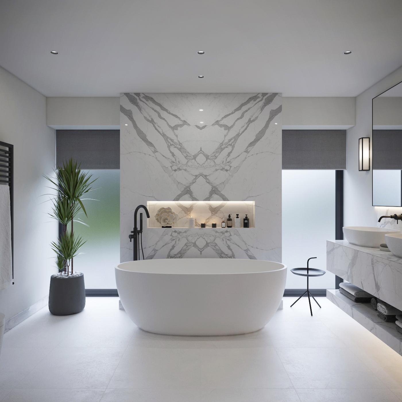 Master Bathroom Visuals