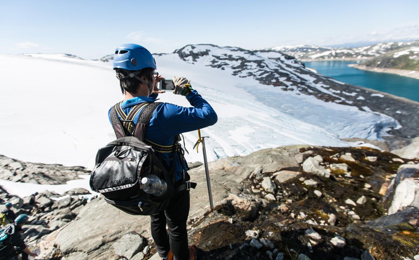 Panorama Glacier Hike