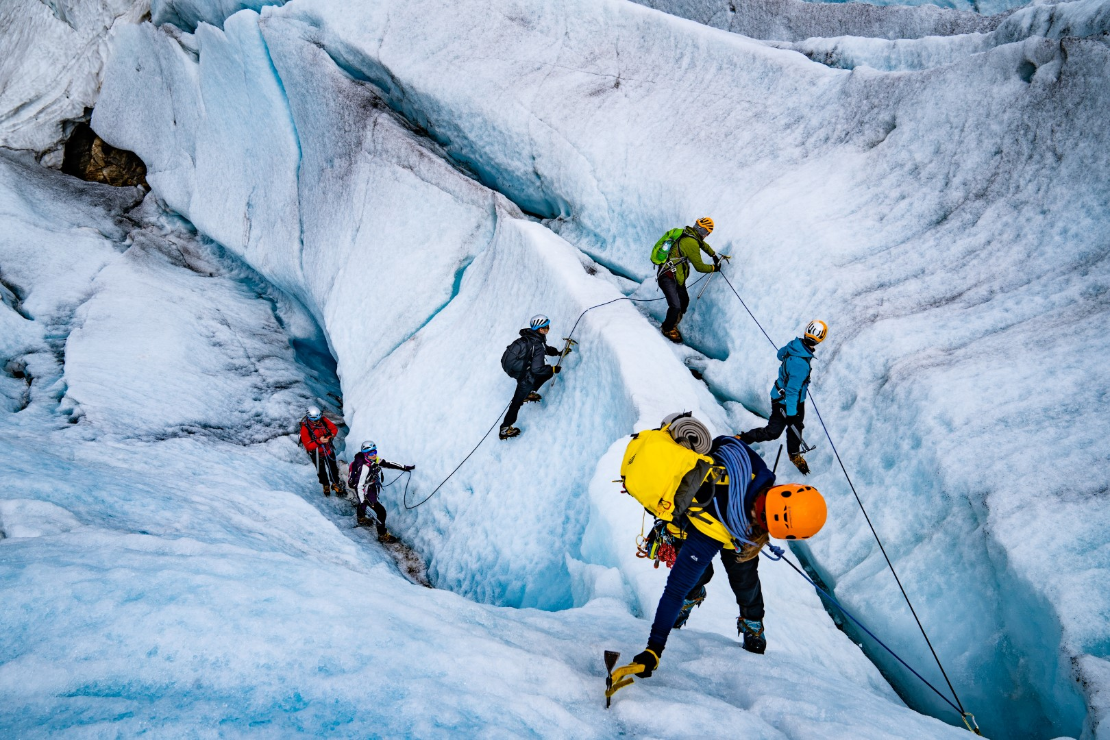 Blue Ice Hike