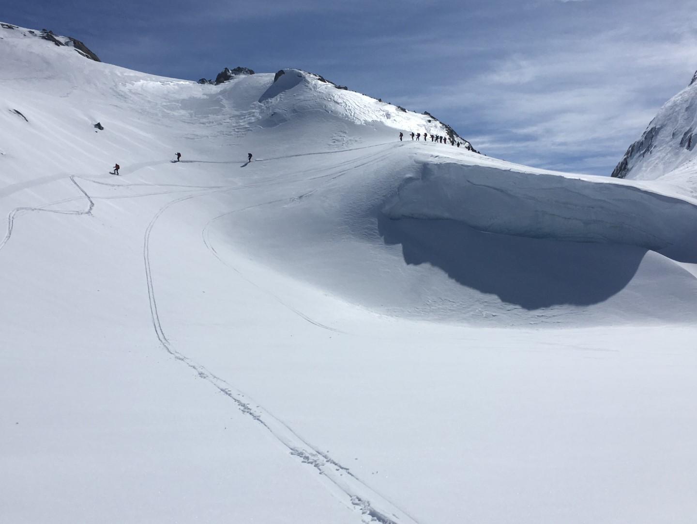 Ski along Folgefonna
