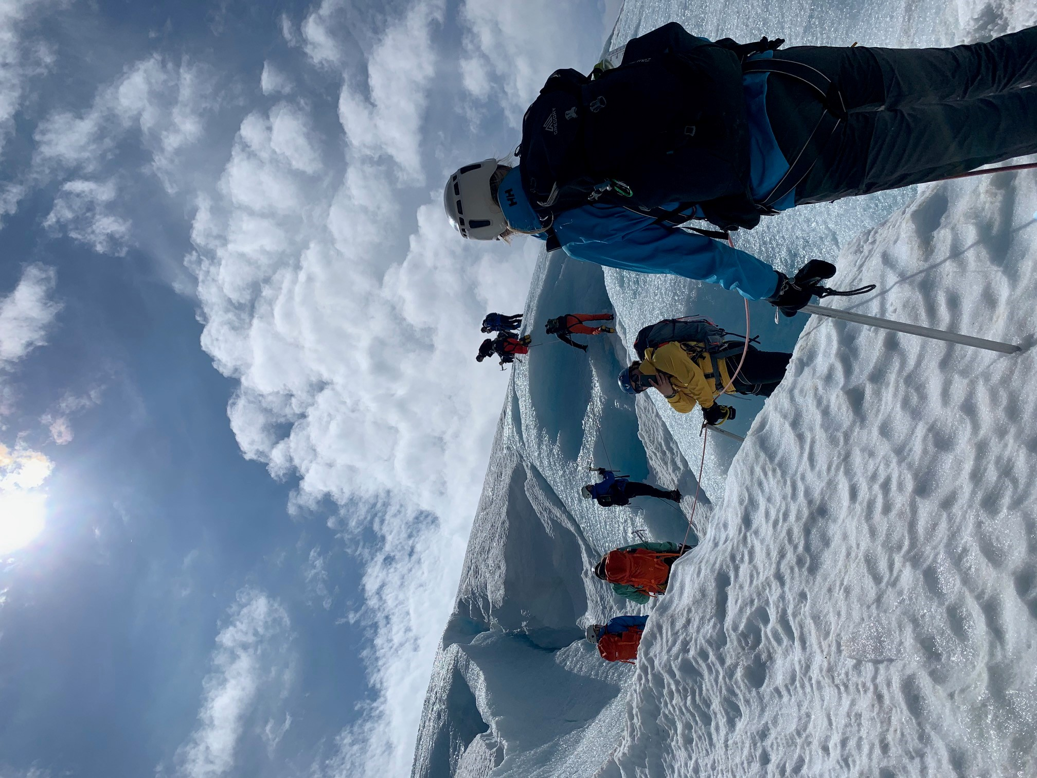 Great to start the season for daily Blue Ice Hikes. From now on we arrange this hike daily until winter is back on Folgefonna in end September.