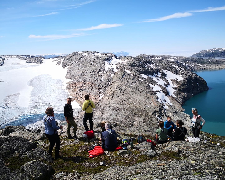 Fantastisk stop på veg til Juklavassbreen i dag❤️#folgefonni #mitthardanger