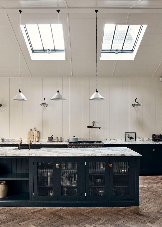 Kitchen design created by Rock & Poppins