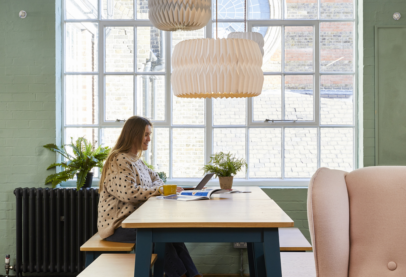 Workspace created by Rock & Poppins