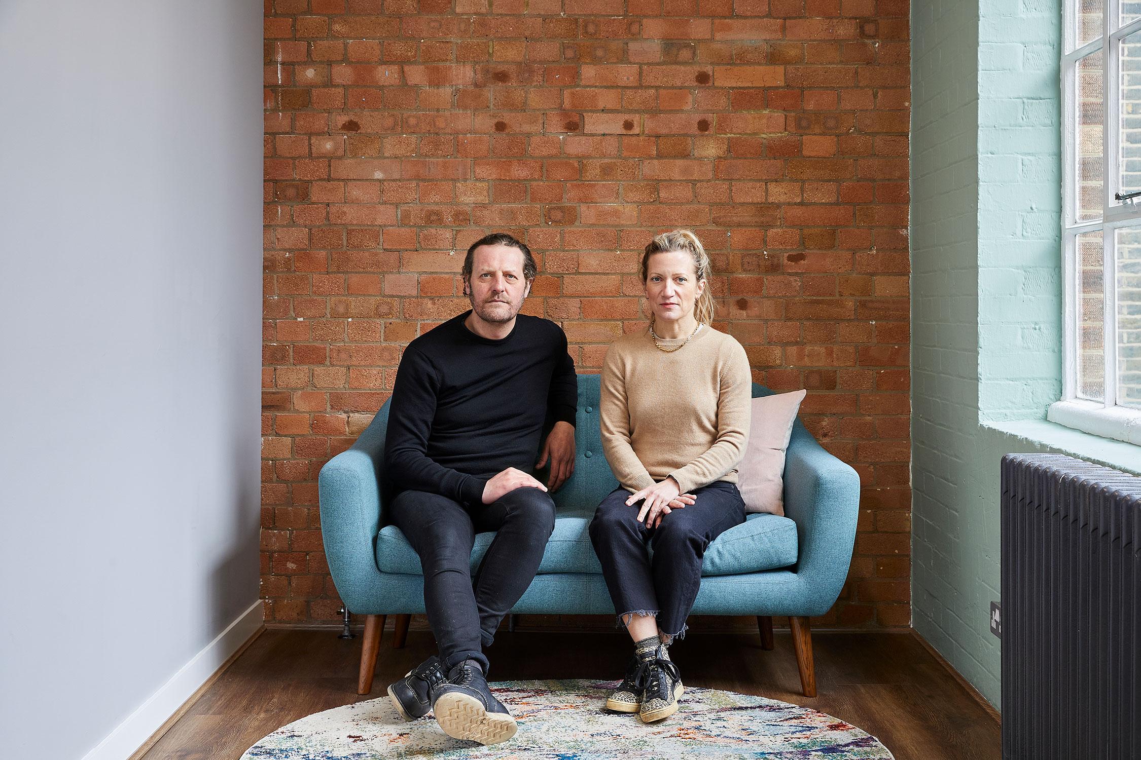 Designers Jo Ash & Simon Ash