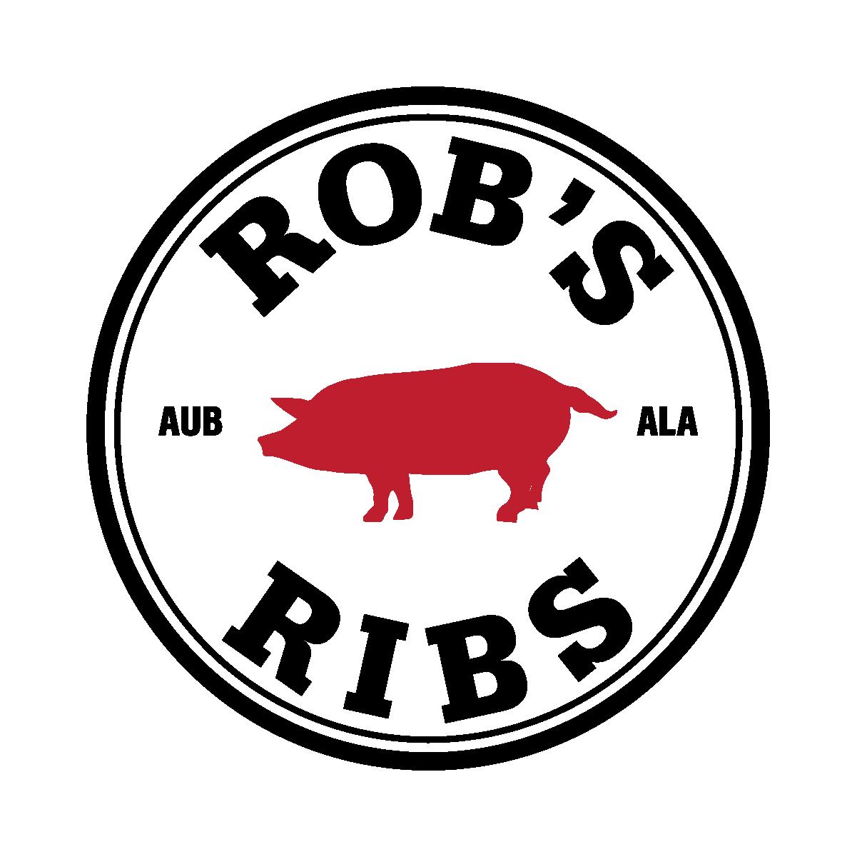 Rob's Ribs logo