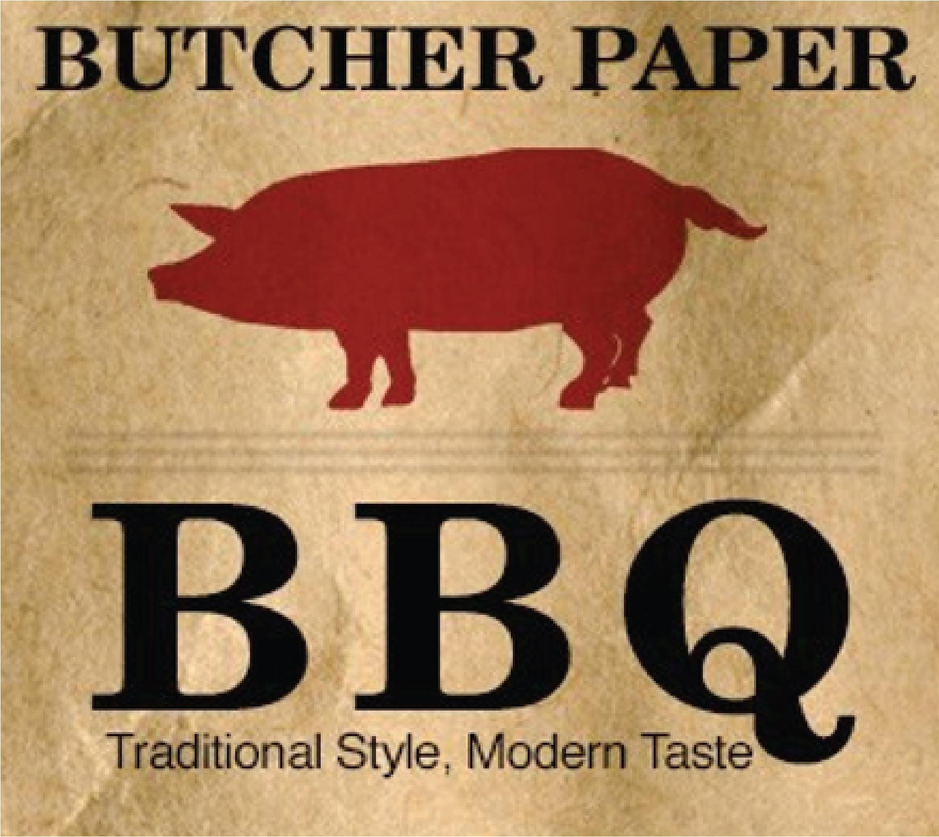 butcher paper bbq