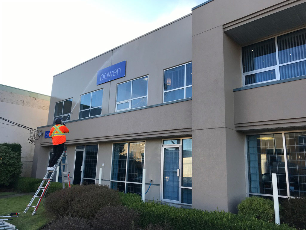 Commercial Washing Picture On Big Shot Pressure Washing Commercial Washing Page