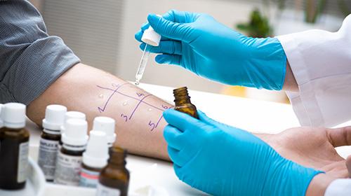 Allergy testing at Gulf Coast Breathe Free