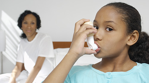 Using inhalers is a common form of allergy treatment