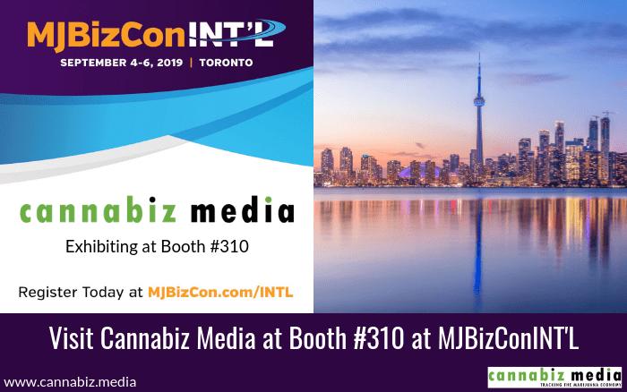 Visit Cannabiz Media at Booth #310 at MJBizConINT'L
