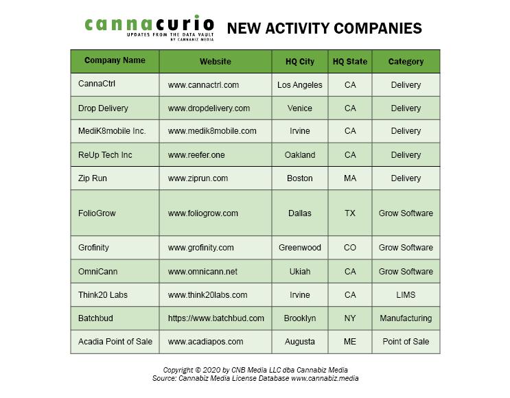 New Activity Companies