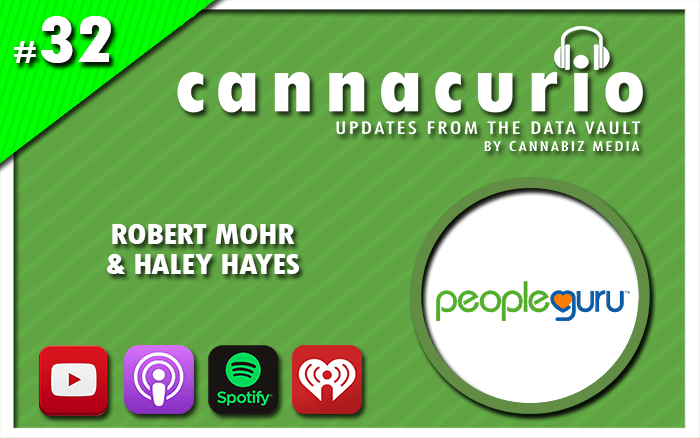 Cannacurio Podcast Episode 32 with Robert Mohr and Haley Hayes of PeopleGuru