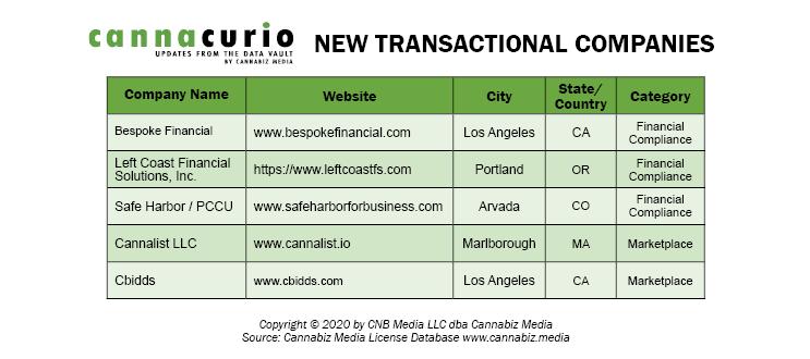 New Transactional Companies