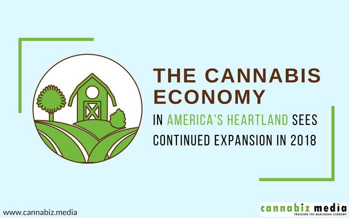 The Cannabis Economy in America's Heartland Sees Continued Expansion in 2018