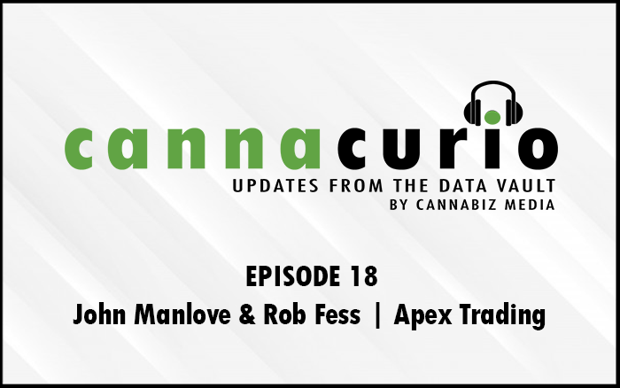 Cannacurio Podcast Episode 18 with John Manlove and Rob Fess of Apex Trading